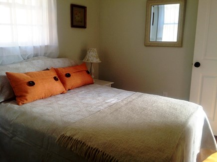 Truro, Ma Cape Cod vacation rental - Second bedroom with full sized bed, closet and ac