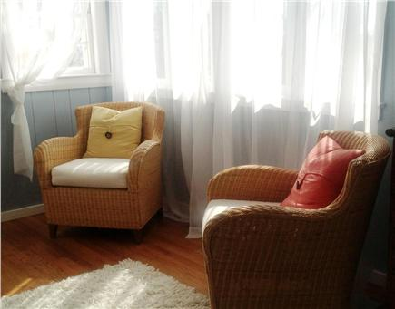 Truro, Ma Cape Cod vacation rental - Siiting area in master bedroom.