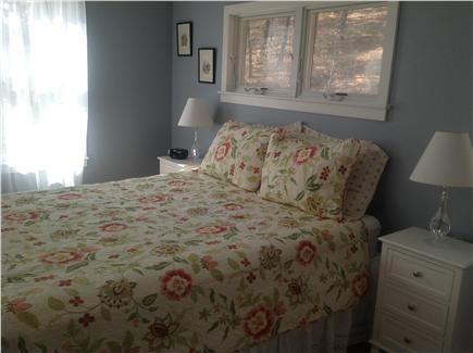 Truro, Ma Cape Cod vacation rental - Master bedroom w/queen sized bed, tv, large closet and ac