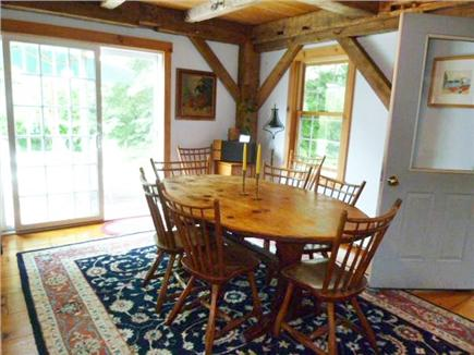 Orleans Cape Cod vacation rental - Part of the dining room, one of two dining tables. Seats 16.