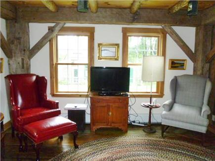 Orleans Cape Cod vacation rental - Section of larger living room,seats 9-10, w/ futon sofa bed