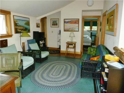 Orleans Cape Cod vacation rental - Open sitting area at the top of the 2nd floor stairs.
