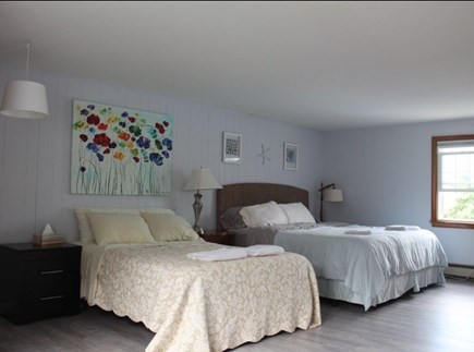 Dennis Port Cape Cod vacation rental - Large master - King and Full bed