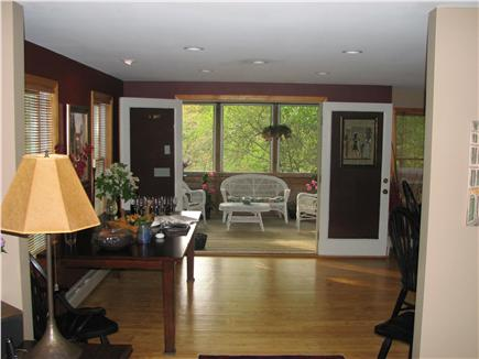Truro Cape Cod vacation rental - Dining room French doors to porch