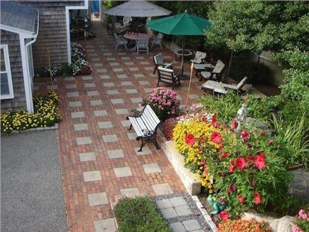 West Harwich Cape Cod vacation rental - Gorgeous Patio with Out door Living & Flat Screen T.V.