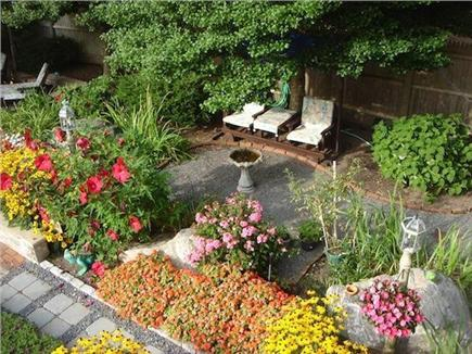 West Harwich Cape Cod vacation rental - Lovely Gardens Surrounding Patio