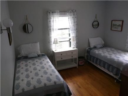 Woods Hole Woods Hole vacation rental - Bedroom with 2 twin beds and water view