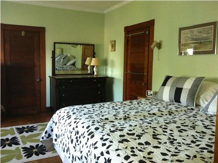 Woods Hole Woods Hole vacation rental - Bedroom with king bed and water view
