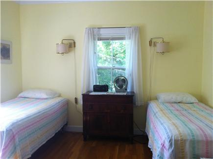 Woods Hole Woods Hole vacation rental - Bedroom with 2 twin beds and sink in room