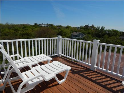 Provincetown, West End Cape Cod vacation rental - Gorgeous deck w/360 degree views of the woodlands & ocean