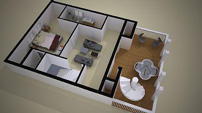 Provincetown, West End Cape Cod vacation rental - Third level floorplan