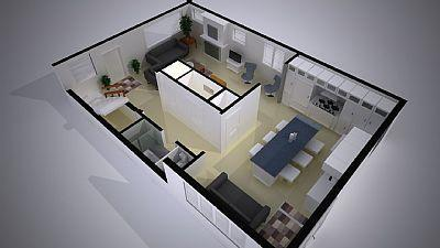 Provincetown, West End Cape Cod vacation rental - First level floorplan