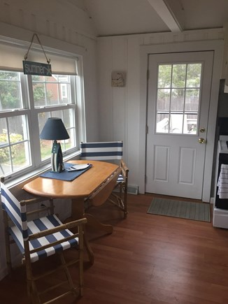 East Falmouth (Maravista Ave) Cape Cod vacation rental - Kitchen - table and chairs