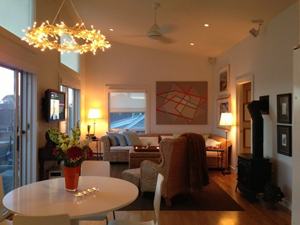 Provincetown Cape Cod vacation rental - Evenings in can be better than evenings out...