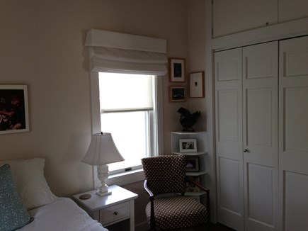 Provincetown Cape Cod vacation rental - Master bedroom, full sized closets