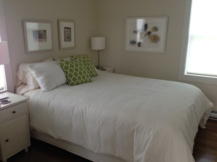 Provincetown Cape Cod vacation rental - Second bedroom, queen bed, ceiling fan.