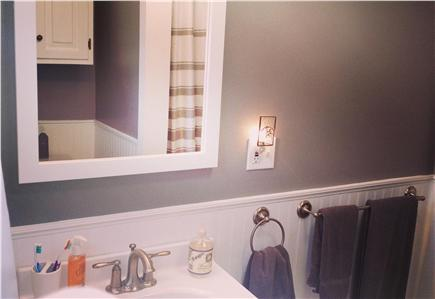 Wellfleet Cape Cod vacation rental - Newly renovated bathroom with shower.
