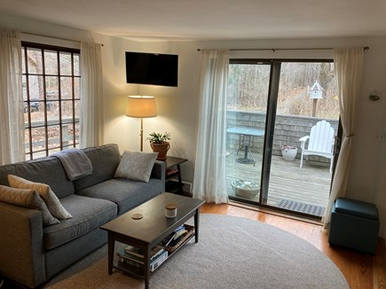 Wellfleet Cape Cod vacation rental - Main living room area with a smart tv and WiFi.