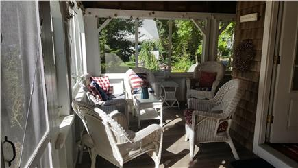 Megansett, North Falmouth Cape Cod vacation rental - Screened in Wrap Around Porch