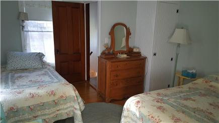 Megansett, North Falmouth Cape Cod vacation rental - Upstairs Bedroom 1 with 1/2 bath.  1 full bed, 1 twin.