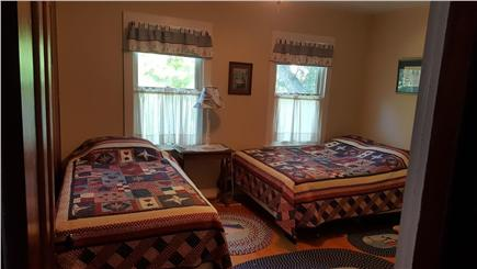 Megansett, North Falmouth Cape Cod vacation rental - Upstairs Bedroom 3.  1 full bed, 1 twin.