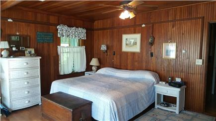 Megansett, North Falmouth Cape Cod vacation rental - Master Bedroom.  King bed, full bath and porch w/water views