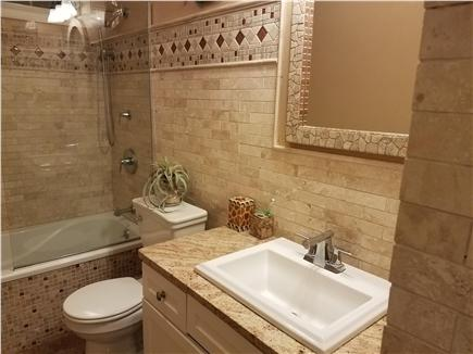 Yarmouth Port Cape Cod vacation rental - Shared bathroom for both guest bedrooms.