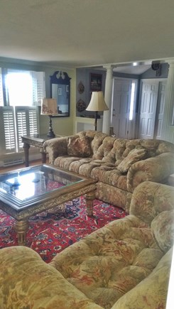 Yarmouth Port Cape Cod vacation rental - Watch the sunset over the channel from the living room couch.