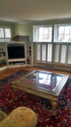 Yarmouth Port Cape Cod vacation rental - Living room great for relaxing after a day at the beach!