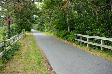 Eastham Cape Cod vacation rental - Bike trail next to the house