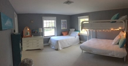 Eastham Cape Cod vacation rental - Two twins and one full futon bed