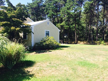Eastham Cape Cod vacation rental - Big back yard for wiffle ball and Bocce