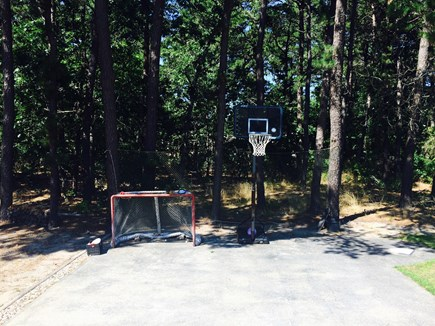 Eastham Cape Cod vacation rental - Sport court for basketball and chalk art