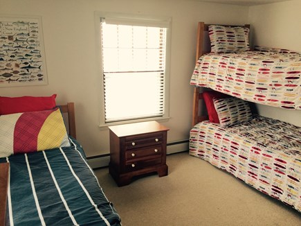 Eastham Cape Cod vacation rental - Three twin beds