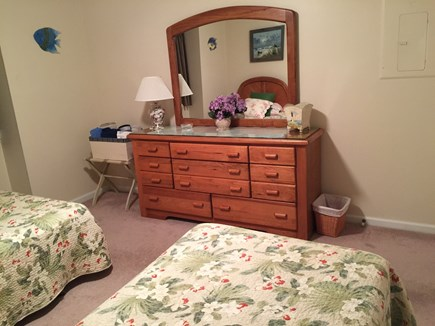 Ocean Edge, Brewster Cape Cod vacation rental - Twin Bedroom with Bureau