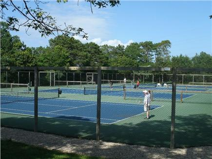 Ocean Edge, Brewster Cape Cod vacation rental - Tennis courts - 2 minute walk from our condo