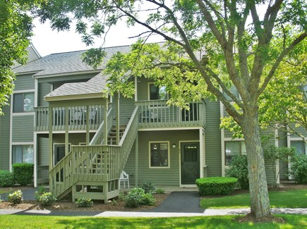 Brewster Cape Cod vacation rental - #86 Eaton Village Condo w/cathedral ceiling