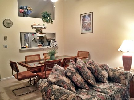 Brewster Cape Cod vacation rental - Living room and Dining room