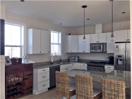 Dennisport Cape Cod vacation rental - Kitchen with granite and high end, stainless steel appliances
