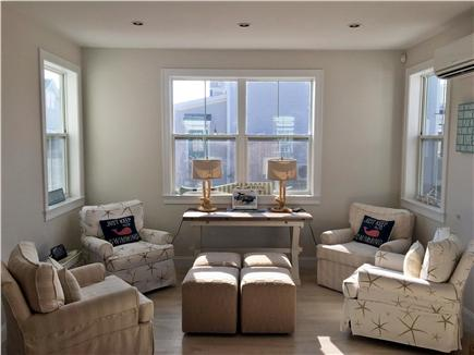 Dennisport Cape Cod vacation rental - Bright sitting area