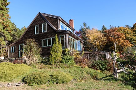 Truro Cape Cod vacation rental - Spacious beautiful gardens and grounds