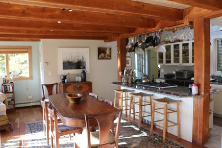 Truro Cape Cod vacation rental - Dining for 8 plus in spacious open kitchen dining area