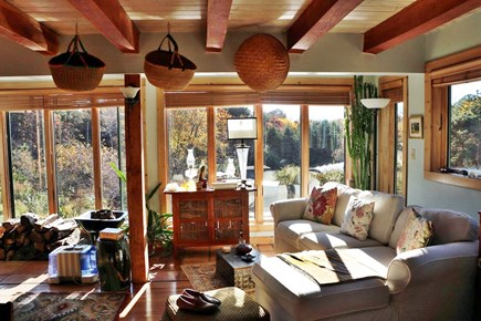 Truro Cape Cod vacation rental - Open living - dining