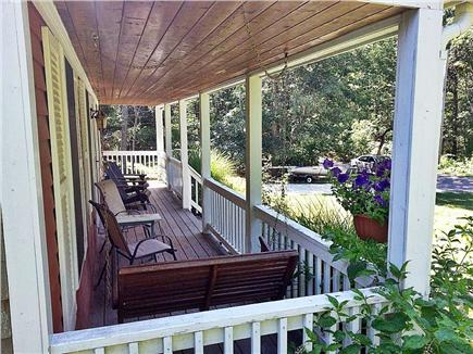 Hyannis Cape Cod vacation rental - Front porch with swing