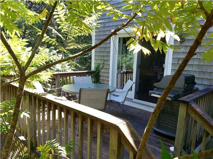 Hyannis Cape Cod vacation rental - Side Deck