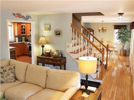 Hyannis Cape Cod vacation rental - Open living/dining and kitchen area