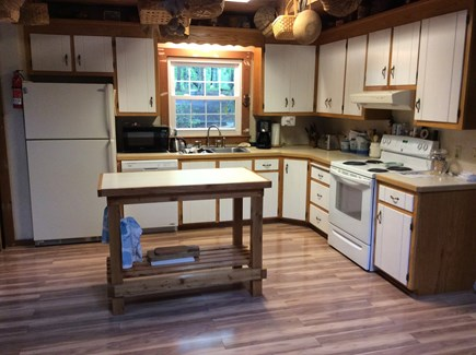 Wellfleet Cape Cod vacation rental - Kitchen off of dining room and family room