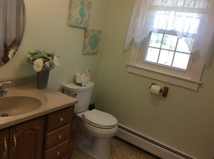 Wellfleet Cape Cod vacation rental - Upstairs bathroom with shower to the right