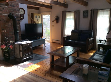 Wellfleet Cape Cod vacation rental - Family Room off the kitchen