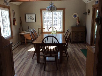 Wellfleet Cape Cod vacation rental - Dining Room off kitchen and screened porch